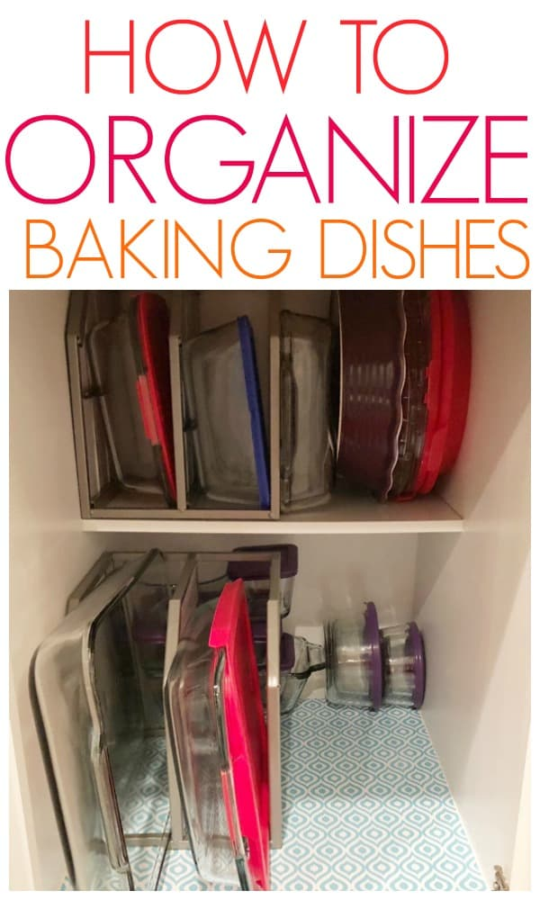 how to organize baking dishes 2