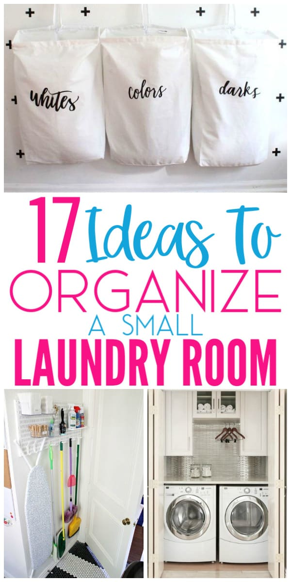 17 Ideas To Organize A Small Laundry Room