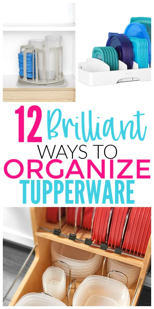 12 Brilliant Ways To Organize Food Storage Containers