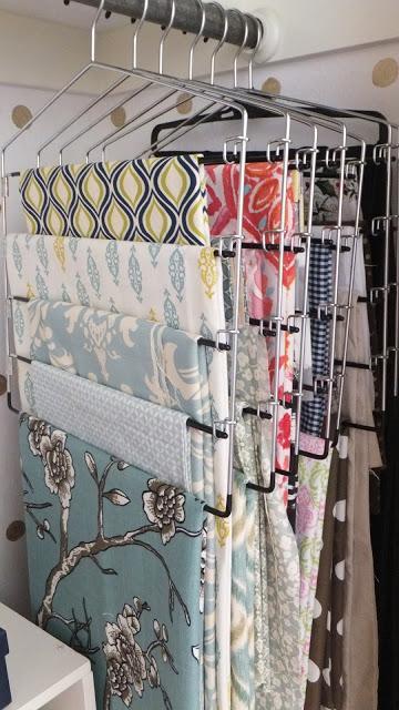 Craft Room Organization Ideas for Fabric